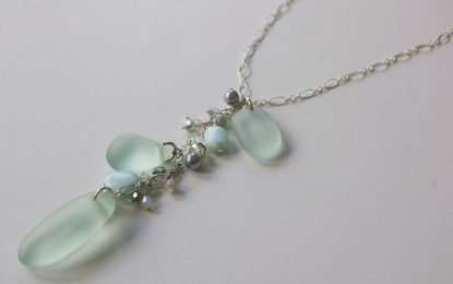 Sea glass the magic of sea and its freshness is now waiting for you