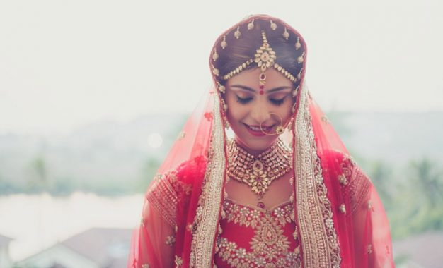 Most Attractive Indian Outfit for a bride