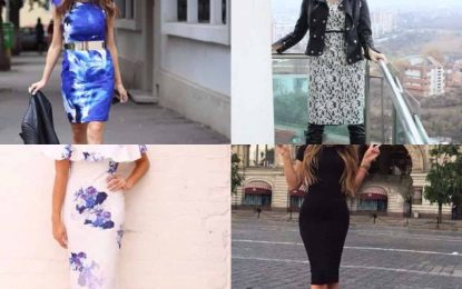 What shoes to wear with a bodycon dress